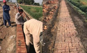 Construction work started