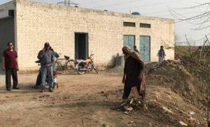 Hepatitis camp site cleanup